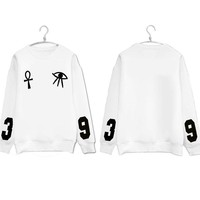 KPOP BTS Bangtan Boys Army   Boys  Hoodies Pullover Women Men Harajuku Eyes Sweatshirt Jimin Jin V Suga Felpa Occhio Korean Clothes AT_89_10