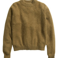 Jumper in an angora blend - from H&M