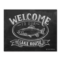 Welcome to Our Lake House - Print