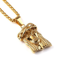 Jesus Is My Homeboy 18K Gold Plated Necklace