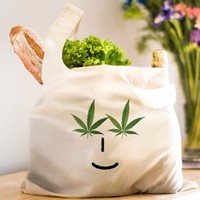 Pot Head Emote Reusable Shopping Bag> The Pot Head Emote> 420 Gear Stop