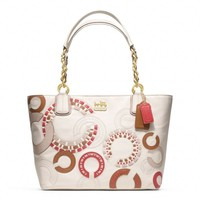 Coach :: Madison Whipstitch Tote