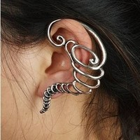 Factory Outlet European And American Gothic Style Ear Stud Tornado Earring~EE036