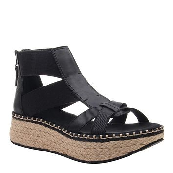 OTBT - CANNONBALL in BLACK Wedge Sandals