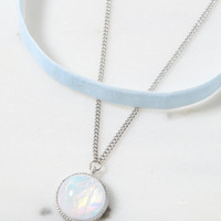 LA Hearts Opal Stone Choker Set at PacSun.com