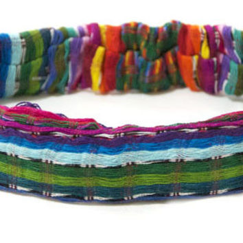 Loose Weave Headwrap | Fair Trade Headbands | Made in Guatemala | Ethically Made Accessories | Come Together Trading