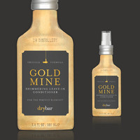 Rid Yourself Of Frizzy Hair With Drybar's Goldmine Leave In Conditioner