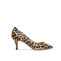 LEATHER COURT SHOE - High-heels - Shoes - Woman - ZARA United States