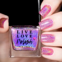 Live Love Polish Fight Like A Girl Nail Polish (Breast Cancer 2017 Collection)