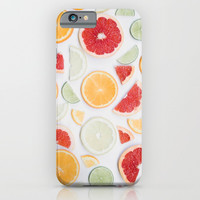citrus fresh iPhone & iPod Case by Ingrid Beddoes