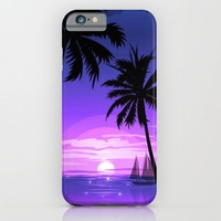 Sunset four iPhone & iPod Case by Ylenia Pizzetti | Society6
