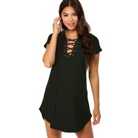 Green Relax A Little Tunic