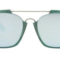 ONETOW CHRISTIAN DIOR ABSTRACT/S CJH GREEN OPAL SUNGLASSES