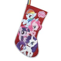 My Little Pony Red Applique Stocking, 19-Inch