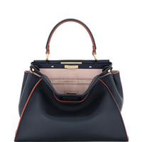 Fendi Peekaboo Medium Tricolor Calf Bag