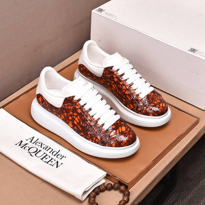 Image of Alexander McQueen  Woman's Men's 2020 New Fashion Casual Shoes Sneaker Sport Running Shoes12