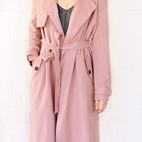 Must-Have Trench Coat /Rose