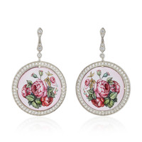 Garden Roses Earrings | Moda Operandi