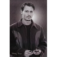 Johnny Depp Portrait Poster 24x36