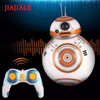 Star Wars Force Episode 1 2 3 4 5   See BB  Robot RC 2.4G BB Robot Intelligent Robot with Sound Reinforced Concrete Ball Baby Boy Gift Toy AT_72_6