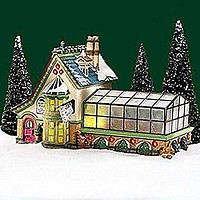Dept 56 Mrs. Clause Greenhouse 56.56395 by Department 56