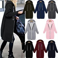 Hoodies Thicken Hats Jacket [14117371924]