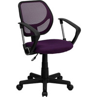 Walmart: Mesh Computer Chair with Arms, Multiple Colors