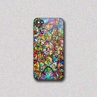 All Disney Heroes Stained Glass - Print on Hard Cover for iPhone 4/4s, iPhone 5/5s, iPhone 5c - Choose the option in right side