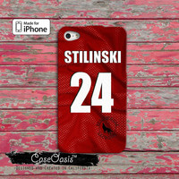 Teen Wolf Stiles Stilinski Beacon Hills Lacrosse Jersey Custom iPhone 4 and 4s Case and Custom iPhone 5 and 5s and 5c Case