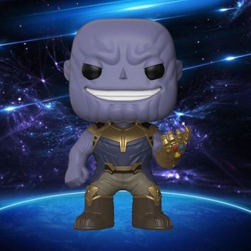 Avengers 3 Infinity War Thanos Figure Vinyl Action Figure Toy with Box