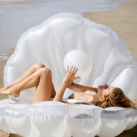 Mermaid Shell Pool Float | Urban Outfitters