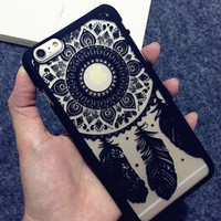 Lace Dream Catcher Case Cover For iphone 5 5s SE 6 6s 6 plus 6s plus + Nice gift box 072301