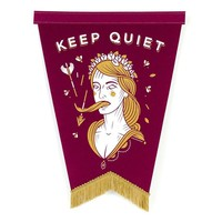 Keep Quiet Pennant