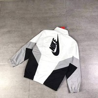 ONETOW Nike  Fashion Zipper Cardigan Sweatshirt Jacket Coat Windbreaker Sportswear