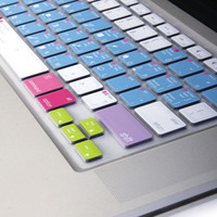 Silicon Keyboard Cover with Photoshop Shortcuts (US Layout) for 13 / 15 MacBook