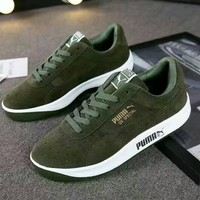 PUMA Casual Sports Shoes sneakers brown H-A-HYSM