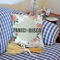 Panic at The Disco Flowers for attractive design pillowcase is made of cotton with a size of 18x18 and 22x22