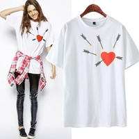 New Hot Fashion Womens Casual Blouse Short Foever21 Like Sleeve Shirt T shirt Summer Blouse Tops