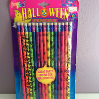 Lisa Frank Halloween Pencils