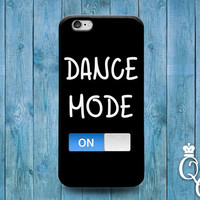 iPhone 4 4s 5 5s 5c 6 6s plus iPod Touch 4th 5th 6th Generation Cool Dance On Black Dancing Dancer Ballet Ballerina Phone Cover Cute Case