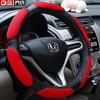auto steering wheel cover auto upholstery sandwich car steering wheel cover auto supplies car steering wheel