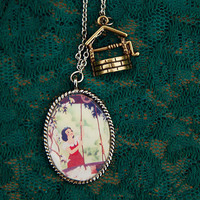 Snow White  Necklace by TheEnchantedWardrobe on Etsy
