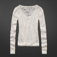 Valarie Lace Back Sweater
