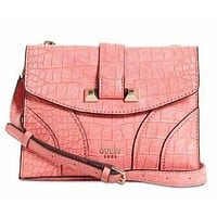 GUESS Islington Flap Crossbody Bag Pink NWT! $98
