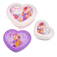 [Disney Store]Rapunzel heart-shaped lunch box: If you want to buy presents and gifts online, we recommend the Disney Store.