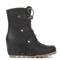 Sorel Joan Of Arctic Wedge Mid Boots - Black