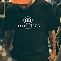 Womens Mens Balenciaga T-shirt Top Lover