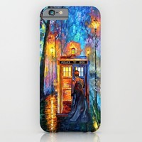 The Doctor Starry the night Art painting iPhone 4 4s 5 5c 6, pillow case, mugs and tshirt iPhone & iPod Case by Three Second