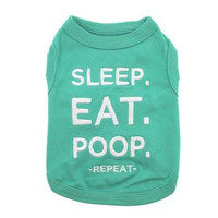 Sleep Eat Poop Dog Tank