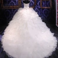 New white/ivory Mermaid lace Wedding Dress Custom Size 2-4-6-8-10-12-14-16-18++